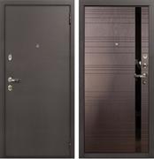 Входная металлическая дверь Лекс 1А (Антик медный / Ясень шоколад) панель №31