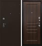 Входная металлическая дверь Ратибор Троя 3К (Орех бренди)