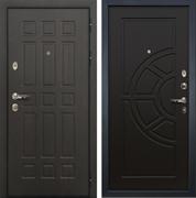 Входная металлическая дверь Лекс 8 Сенатор ФЛ-44 МДФ-12 Венге