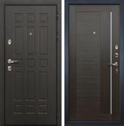 Входная металлическая дверь Лекс 8 Сенатор Экошпон Верджиния Венге