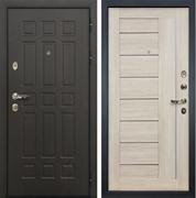 Входная металлическая дверь Лекс 8 Сенатор Экошпон Верджиния Ясень кремовый