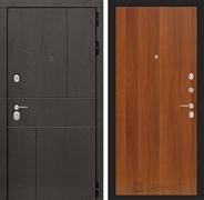 Входная металлическая дверь Лабиринт Урбан 5 (Дуб горький шоколад / Итальянский орех)