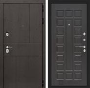 Входная металлическая дверь Лабиринт Урбан 4 (Дуб горький шоколад / Венге)