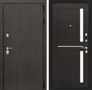 Входная металлическая дверь Лабиринт Урбан 2 (Дуб горький шоколад / Венге)