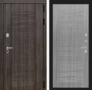 Входная металлическая дверь Лабиринт Сканди 6 (Дарк Грей / Сандал серый)