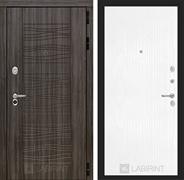 Входная дверь Лабиринт Сканди 7 (Дарк Грей / Белое дерево)