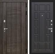 Входная металлическая дверь Лабиринт Сканди 12 (Дарк Грей / Венге)