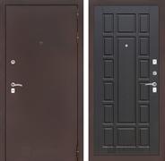 Входная дверь Лабиринт Классик 12 (Антик медный / Венге)
