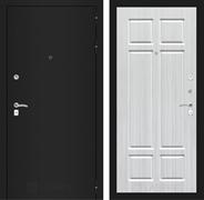 Входная металлическая дверь Лабиринт Классик 8 (Шагрень черная / Кристалл вуд)