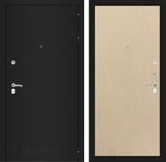 Входная металлическая дверь Лабиринт Классик 5 (Шагрень черная / Венге светлый)