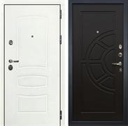 Входная дверь Лекс Сенатор 3К Шагрень белая (№43 Венге)