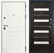 Входная дверь Лекс Сенатор 3К Шагрень белая Сицилио (№51 Венге)