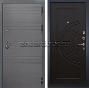 Входная дверь Лекс Сенатор 3К Софт графит (№43 Венге)