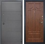 Входная дверь Лекс Сенатор 3К Софт графит (№26 Береза мореная)