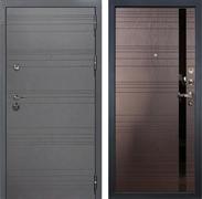 Входная дверь Лекс Сенатор 3К Софт графит (№31 Ясень шоколад)