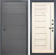 Входная дверь Лекс Сенатор 3К Софт графит Верджиния (№38 Дуб беленый)