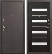 Входная стальная дверь Лекс 1А Сицилио (№51 Венге)