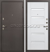 Входная стальная дверь Лекс 1А (№34 Ясень белый)
