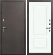 Входная стальная дверь Лекс 1А Вероника-1 Шпон (№55 Эмаль Белая)