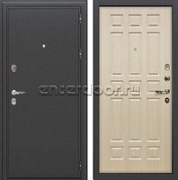 Входная металлическая дверь Лекс Колизей Дуб беленый (№28)