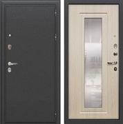 Входная металлическая дверь Лекс Колизей с Зеркалом Дуб беленый (№23)