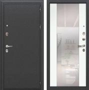 Входная дверь Лекс Колизей Стиль с Зеркалом Ясень белый (№61)