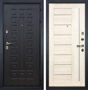 Входная металлическая дверь Лекс Гладиатор 3К Верджиния Дуб беленый (панель №38)