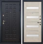 Входная металлическая дверь Лекс Гладиатор 3К Сицилио Ясень кремовый (панель №48)