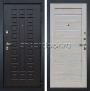 Входная металлическая дверь Лекс Гладиатор 3К Клеопатра-2 Ясень кремовый (панель №66)