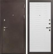 Входная металлическая дверь Лекс 5А Цезарь Ясень белый (панель №36)