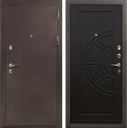 Входная металлическая дверь Лекс 5А Цезарь Венге (панель №43)