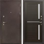 Входная металлическая дверь Лекс 5А Цезарь Баджио Венге (панель №50)