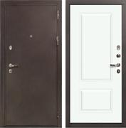 Входная металлическая дверь Лекс 5А Цезарь Вероника-1 Эмаль Белая (панель №55)
