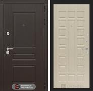 Входная металлическая дверь Лабиринт Мегаполис 4 (Венге / Дуб беленый)