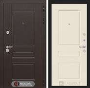 Входная металлическая дверь Лабиринт Мегаполис 3 (Венге / Крем софт)