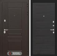 Входная металлическая дверь Лабиринт Мегаполис 14 (Венге / ЭкоВенге)