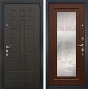 Входная дверь Лекс 4А Неаполь Mottura с Зеркалом Береза мореная (панель №30)
