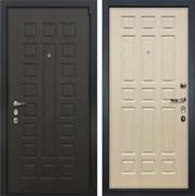 Входная металлическая дверь Лекс 4А Неаполь Mottura Белёный Дуб (панель №28)