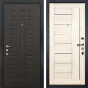 Входная металлическая дверь Лекс 4А Неаполь Mottura Верджиния Дуб беленый (панель №38)