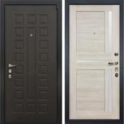 Входная дверь Лекс 4А Неаполь Mottura Верджиния Ясень кремовый (панель №40)