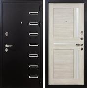 Входная металлическая дверь Лекс Витязь Баджио Ясень кремовый (панель №49)