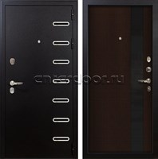 Входная металлическая дверь Лекс Витязь Новита Венге (панель №53)
