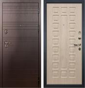 Входная металлическая дверь Лекс Легион Белёный дуб (панель №20)