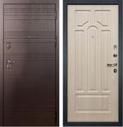 Входная металлическая дверь Лекс Легион Белёный дуб (панель №25)