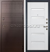 Входная металлическая дверь Лекс Легион Ясень белый (панель №34)