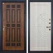 Входная металлическая дверь Лекс Гладиатор 3К Винорит Сандал белый (панель №44)
