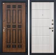 Входная металлическая дверь Лекс Гладиатор 3К Винорит Сандал белый (панель №42)