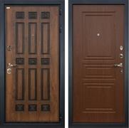 Входная металлическая дверь Лекс Гладиатор 3К Винорит Береза мореная (панель №19)