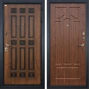 Входная металлическая дверь Лекс Гладиатор 3К Винорит Берёза мореная (панель №26)