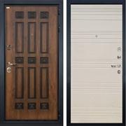 Входная дверь Лекс Гладиатор 3К Винорит Дуб фактурный кремовый (панель №63)